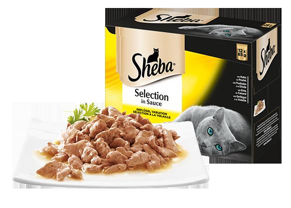 SHEBA PB MP Sauce Gefluegel