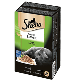 Sheba Sauce Lover - Feine Vielfalt