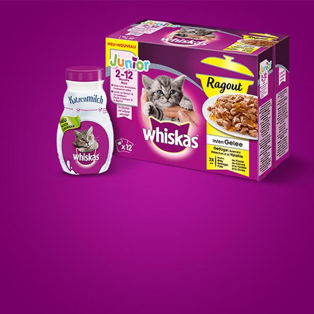 Für die Kleinen: Whiskas® Junior