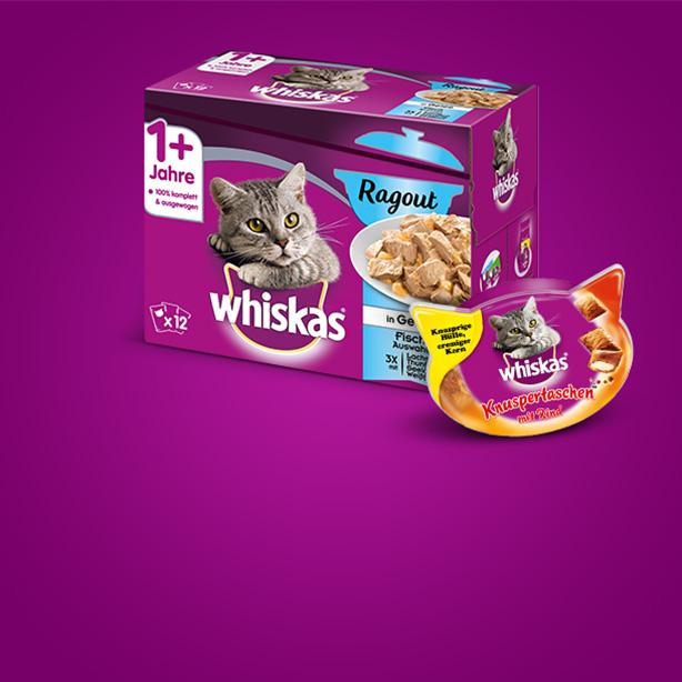 Die Whiskas® Produktvielfalt