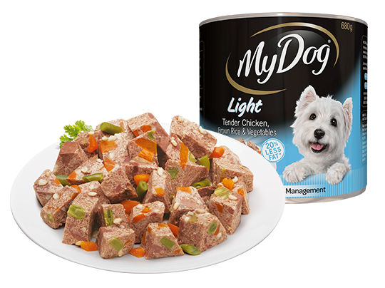 Chicken brown rice and vegetables light dog food my dog the my dog range forumfinder Images