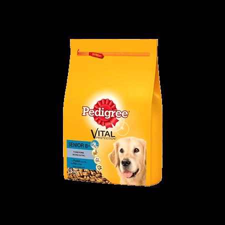 PEDIGREE<sup>®</sup> brokjes met kip voor senior honden 2,5kg