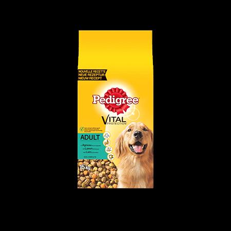 PEDIGREE<sup>&#174;</sup> brokjes met lamsvlees voor volwassen honden 15kg