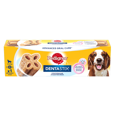 PEDIGREE<sup>®</sup>® Dentastix™ Twice Weekly Medium Single 80g