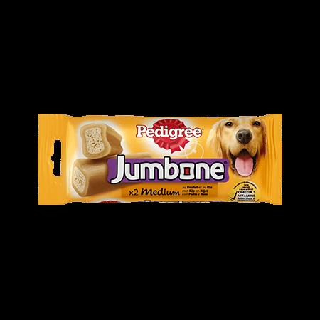 PEDIGREE<sup>&#174;</sup> Jumbone Medium Kip 2 stuks 200g
