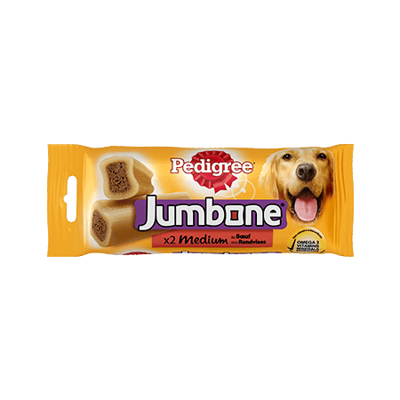 PEDIGREE<sup>®</sup> Jumbone Medium Rund 2 stuks 200g