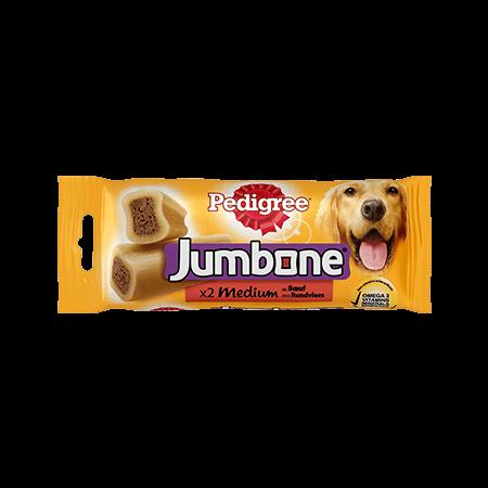 PEDIGREE<sup>&#174;</sup> Jumbone Medium Rund 2 stuks 200g