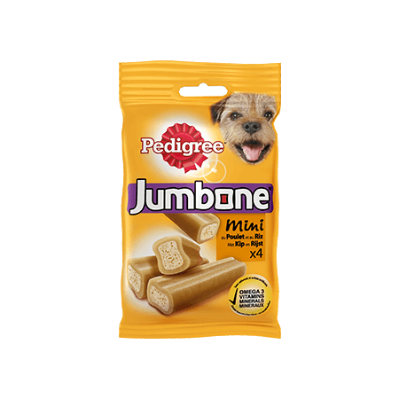 PEDIGREE<sup>&#174;</sup> Jumbone Mini kip 4 stuks 180g