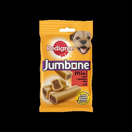 PEDIGREE<sup>&#174;</sup> Jumbone Mini Rund 4 stuks 180g
