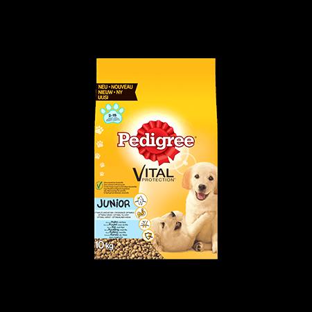 PEDIGREE<sup>&#174;</sup> met kip en rijst voor junior honden 10kg