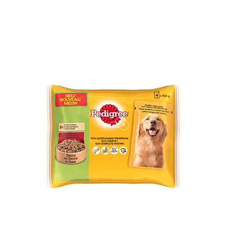 PEDIGREE<sup>®</sup> Pouch 4x100g