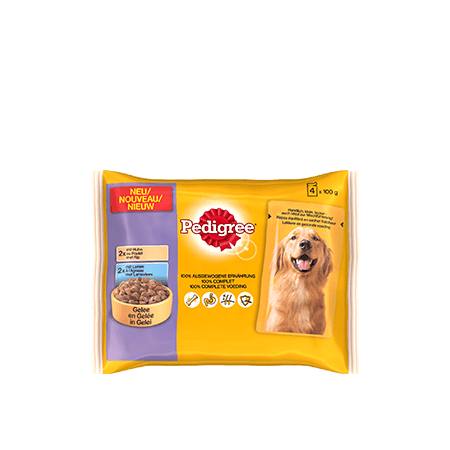 PEDIGREE<sup>&#174;</sup> Pouch 4x100g