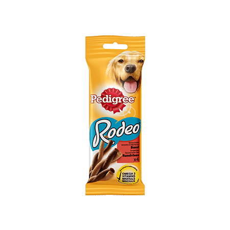 PEDIGREE<sup>®</sup> RODEO met rund 4 sticks 70g