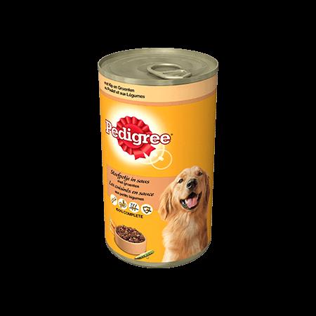 PEDIGREE<sup>®</sup> Stoofpotje met Kip en Groenten 1200g