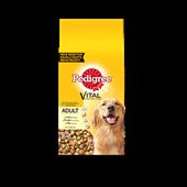Pedigree brokjes met kip voor volwassen honden 15kg
