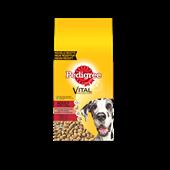 PEDIGREE brokjes met rund voor Maxi honden adult 15kg