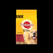 Pedigree brokjes met rund voor volwassen honden 10kg