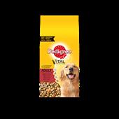 Pedigree brokjes met rund voor volwassen honden 15kg