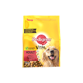 Pedigree brokjes met rund voor volwassen honden 3kg