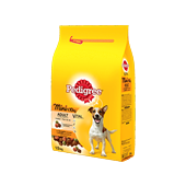 Pedigree brokjes mini hond <10kg met gevogelte 1,5kg