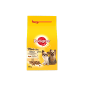 Pedigree brokjes mini hond <5kg met kip 1,5kg