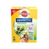 Pedigree® Dentastix™ Daily Fresh Care Maxi Multipack 1080g
