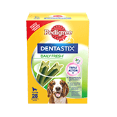 PEDIGREE® Dentastix™ Daily Fresh Medium Multipack 720g