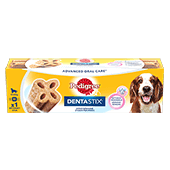 Pedigree® Dentastix™ Twice Weekly Medium Single 80g