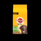 PEDIGREE light brokjes met gevogelte voor volwassen honden 13kg
