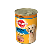 Pedigree Terrine met Gevogelte en rijst voor Senior honden 410g