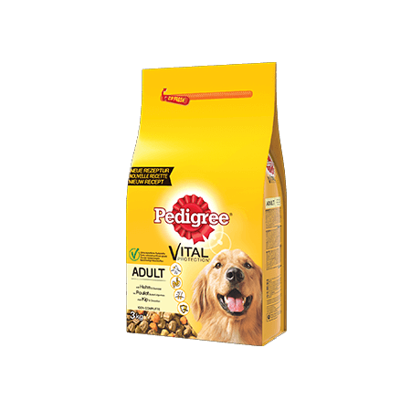 PEDIGREE<sup>&#174;</sup> croquettes à la volaille pour chien adulte 3kg