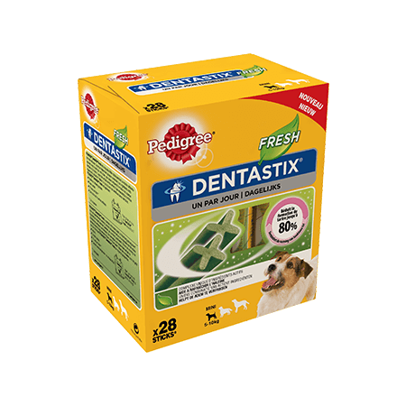 PEDIGREE<sup>®</sup> DentaStix Fresh Mini 28p 400g