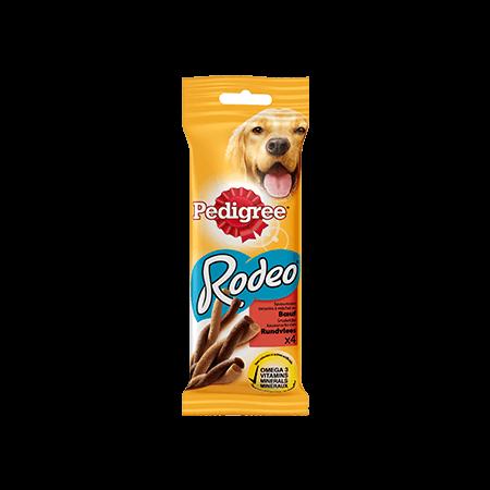 PEDIGREE<sup>®</sup> RODEO Au Boeuf 4 sticks 70g