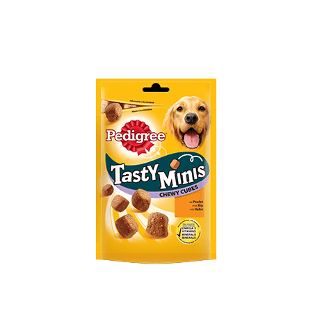 TASTY MINI'S Chewy Cubes Poulet 180g