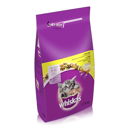 WHISKAS  Kitten Dry met Kip 1,75kg