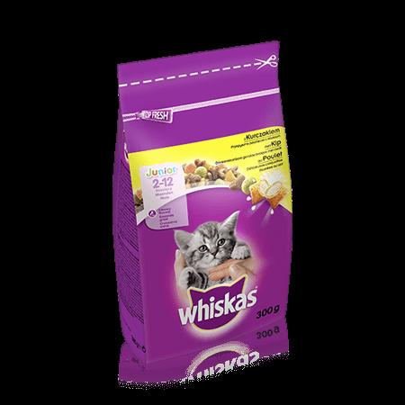 WHISKAS  Kitten Dry met Kip 300g