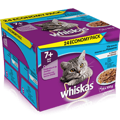 WHISKAS®  Pouch in Jelly Fish Selection 24x100g
