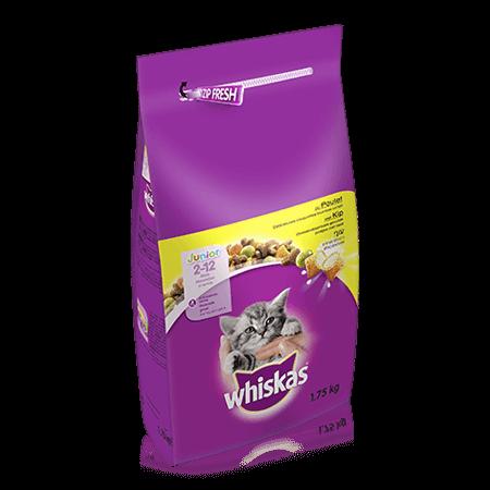 WHISKAS Kitten Dry au Poulet 1,75kg