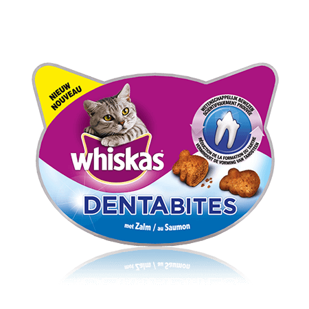 WHISKAS  Dentabites au Saumon 40g