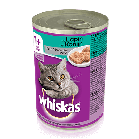 WHISKAS Can Terrine au Lapin 400g