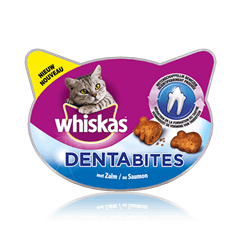 WHISKAS®  Dentabites au Saumon 40g