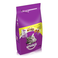 WHISKAS® Dry au Poulet 1,75kg