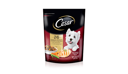 CESAR® Roast Chicken Flavour and Spring Vegetable Garnish 3kg