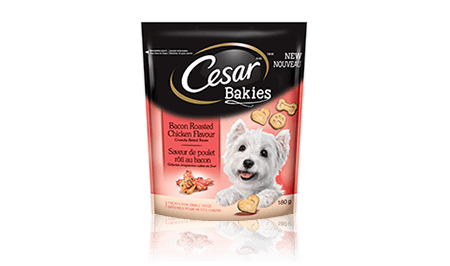 CESAR® BAKIES™ BACON-ROASTED CHICKEN FLAVOUR 180g