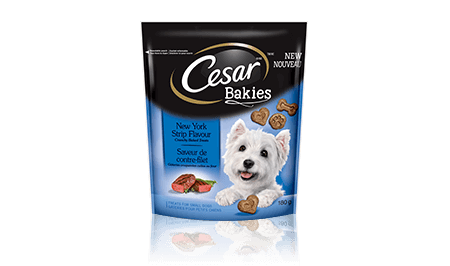 CESAR® BAKIES™ NEW YORK STRIP FLAVOUR 180g