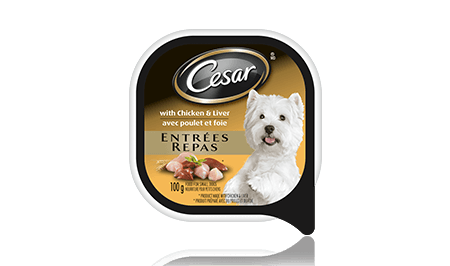 CESAR® ENTRÉES: WITH CHICKEN AND LIVER 100g