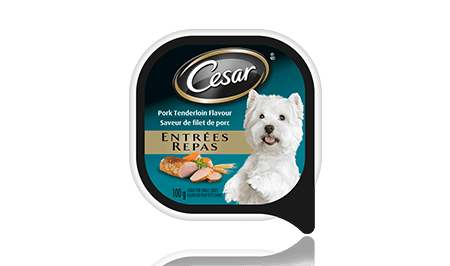 CESAR® ENTRÉES: WITH PORK TENDERLOIN FLAVOUR 100g