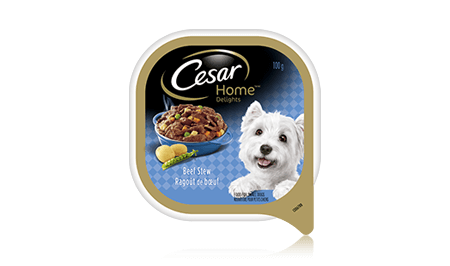 CESAR® HOME DELIGHTS® BEEF STEW 100g
