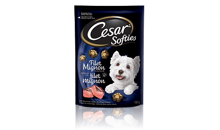 CESAR® SOFTIES™ FILET MIGNON FLAVOUR 150g