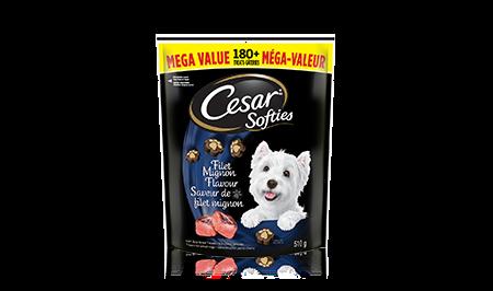 CESAR SOFTIES Filet Mignon Flavour 510g
